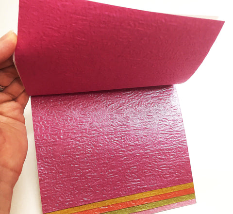 Textured fancy colored paper 21 ct