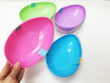 Jumbo egg container for organizing and storing
