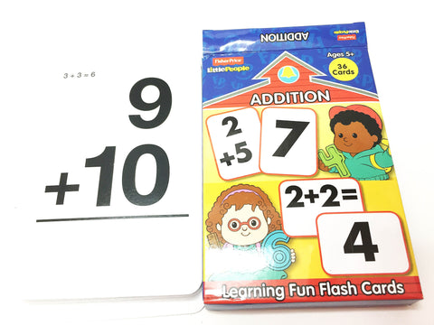 ADDITION cards little people set