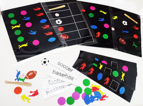 Sports preschool activity with free sport gift!