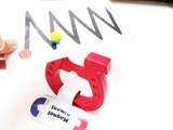 Magnet fine motor skill activity