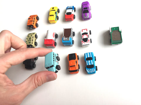Mini Cars logic matching game SET 2