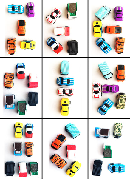 Mini Cars logic matching game SET 2 PDF