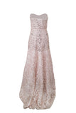 Buy: Sue Wong Champagne A-Line Dress