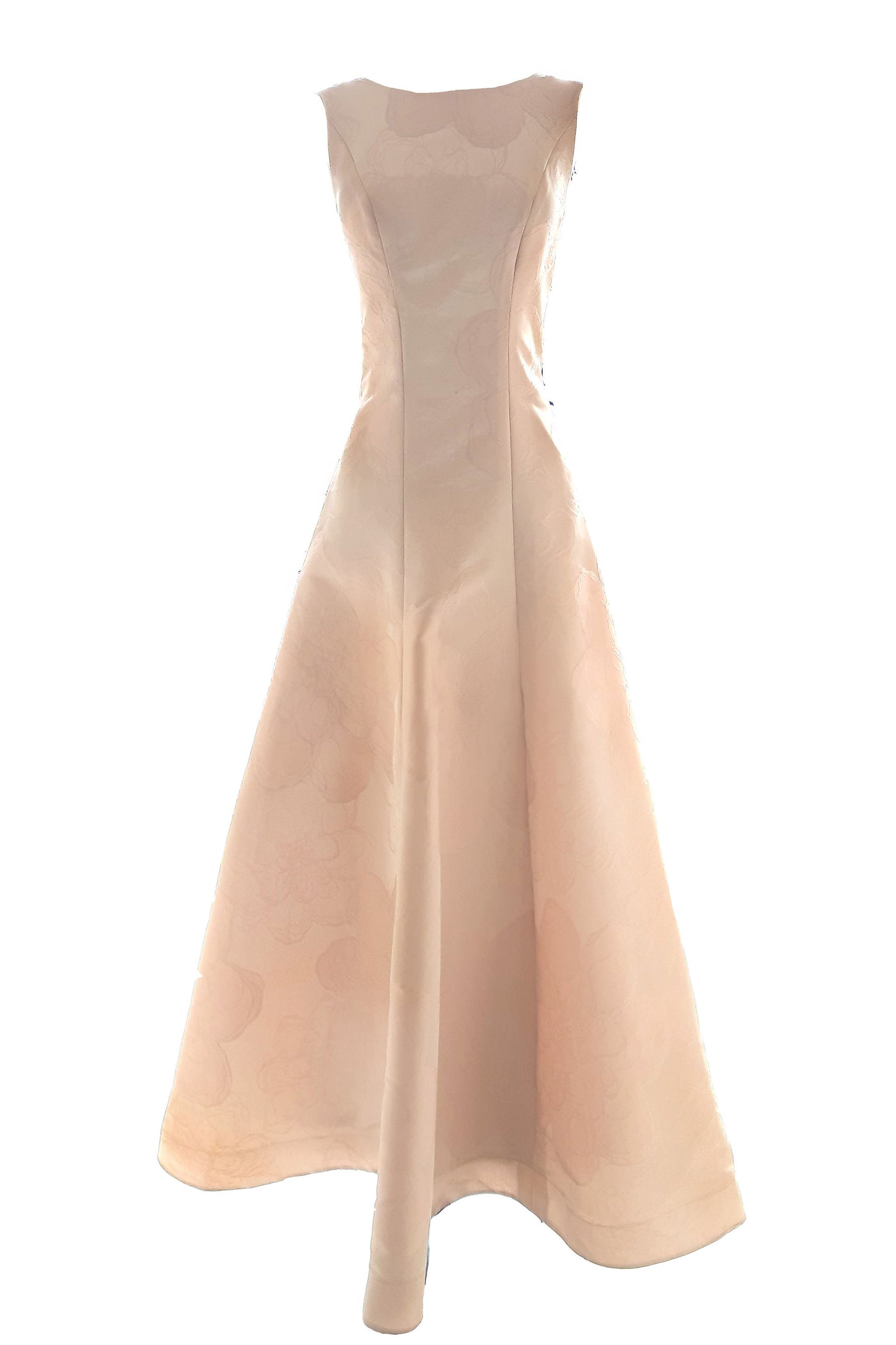 Rent: GAIA Sleeveless Embroidered Flower Powder Pink Dress