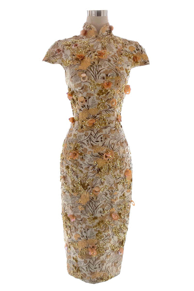 Rent: Yefta Gunawan Cheongsam with Beaded Dress
