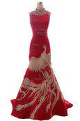 Rent : Albert Yanuar - CheongSam Embroidery Mermaid Gown
