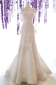 Rent: Albert Yanuar - Long Sleeves CheongSam Mermaid Wedding Gown