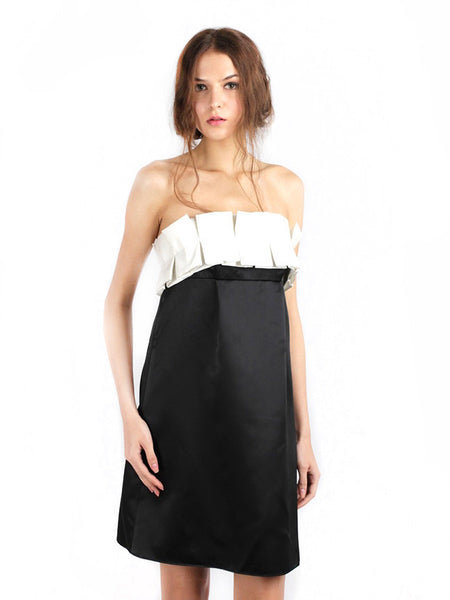 ABS by Allen Schwartz - Buy: Box Pleats Cocktail Dress-The Dresscodes - 1