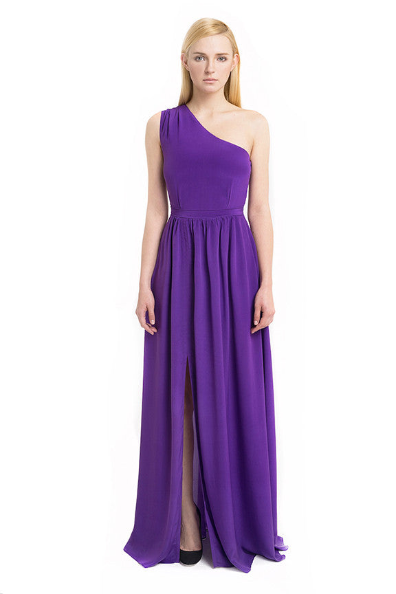 Aijek - Rent: Aijek Beginnings Silk Maxi Dress-The Dresscodes - 1