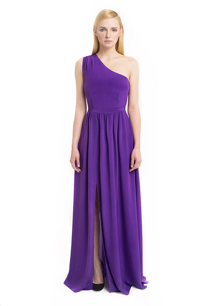 Aijek - Buy: Beginnings Silk Maxi-The Dresscodes - 1