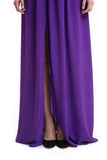 Aijek - Rent: Aijek Beginnings Silk Maxi Dress-The Dresscodes - 2