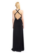 Aijek - Rent: Aijek Black Drifter Lace Maxi Dress-The Dresscodes - 2