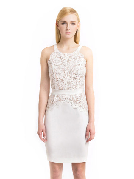 Aijek - Rent: AIJEK Drifter Lace Pencil Dress-The Dresscodes - 1