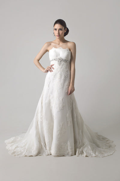 Aire Barcelona - Buy: Oliva Wedding Gown-The Dresscodes - 1