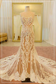 Rent: Albert Yanuar Full Embroidered Convertible Wedding Gown
