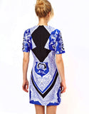 ASOS - Buy: Mini Blue Scarf Print-The Dresscodes - 2