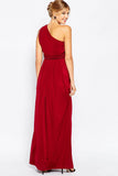 ASOS Maternity - Buy: ASOS Maternity Red One Shoulder Maxi Dress-The Dresscodes - 3