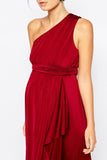 ASOS Maternity - Buy: ASOS Maternity Red One Shoulder Maxi Dress-The Dresscodes - 2