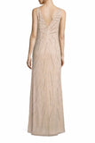 Rent: Aidan Mattox Sleeveless Beaded Gown