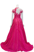 Rent: Albert Yanuar Fuschia Evening Gown
