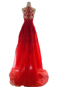 Rent : Albert Yanuar - Red Organza Gown