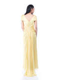 Andreas Odang - Buy: Off Shoulder Yellow Gown-The Dresscodes - 2