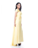 Andreas Odang - Buy: Off Shoulder Yellow Gown-The Dresscodes - 3
