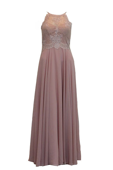 Rent : Angel Forever Pink Lace Satin Dress