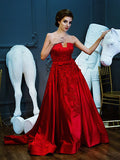 Anrini Polim - Rent: Anrini Polim Red Sweetheart Ball Gown-The Dresscodes - 1