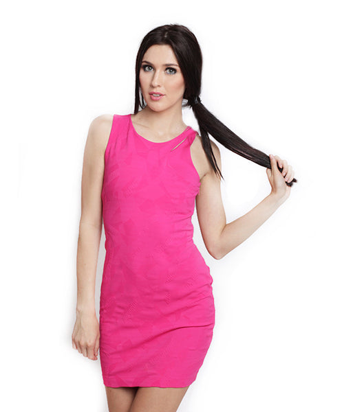 Armani Exchange - Buy: Pink Bodycon Dress-The Dresscodes - 1