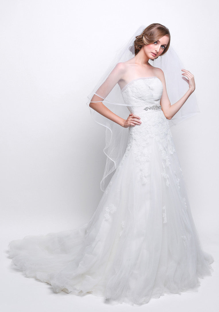 Avenue Diagonal - Buy: Avenue Diagonal A-line Wedding Gown-The Dresscodes - 1