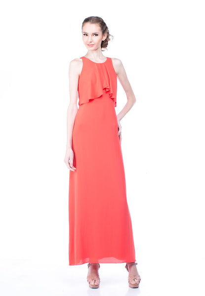 BCBGMaxazria - Rent: BCBG Enza Maxi Dress-The Dresscodes - 1