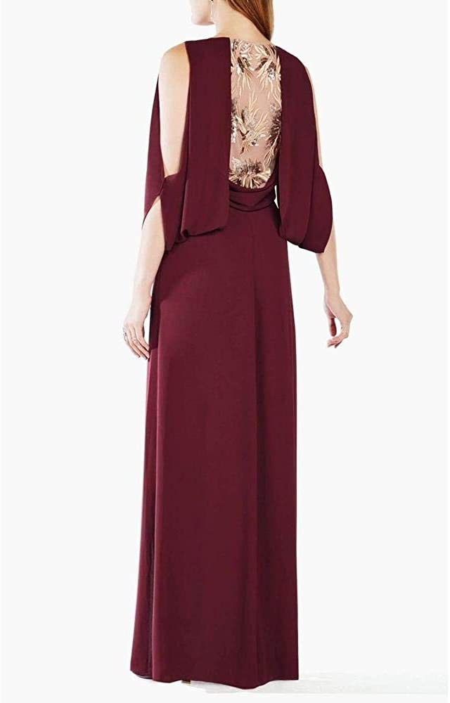 Sale: BCBGMaxazria - Maroon Rayah Evening Dress