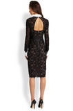 BCBGMaxazria - Buy: Olga Fitted Lace Shift Dress-The Dresscodes - 2