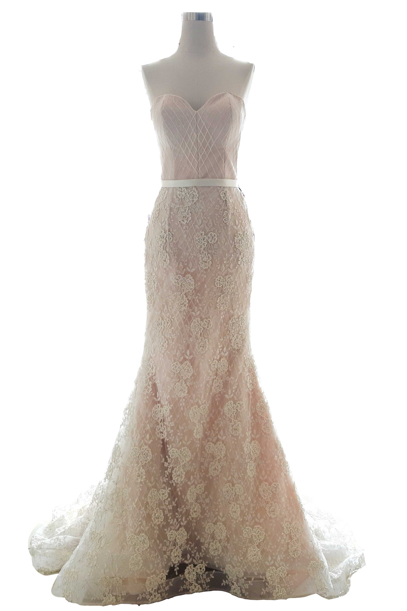 Rent : Bramanta Wijaya - Sweatheart Lace Wedding Gown