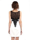 Carmen Marc Valvo - Buy: Black Lace on White-The Dresscodes - 2