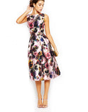 Chi Chi London - Rent: Chi Chi London Floral Midi Dress-The Dresscodes - 2