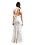 Chinoiserie - Rent: Chinoiserie White Backless Cheongsam-The Dresscodes - 2