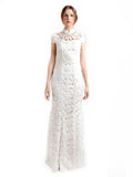 Chinoiserie - Buy: White Backless Cheongsam-The Dresscodes - 1