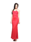 Coast London - Buy: Red Strapless Maxi Dress-The Dresscodes - 1