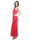 Coast London - Buy: Red Strapless Maxi Dress-The Dresscodes - 2