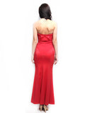 Coast London - Buy: Red Strapless Maxi Dress-The Dresscodes - 3