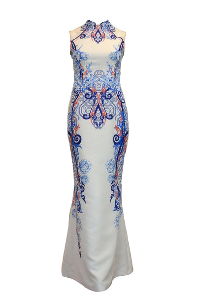 Rent: Albert Yanuar Cheongsam Batik Long Dress