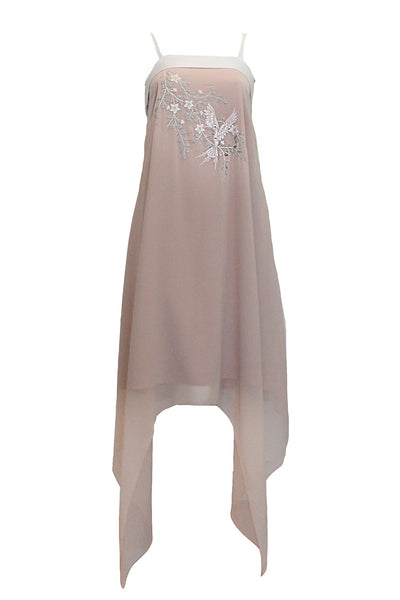 Rent: Charlotta Atelier - Leia Silk Chiffon Embroidery Dress