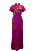 Buy : Private Label - Short Sleeves Cheongsam Dress