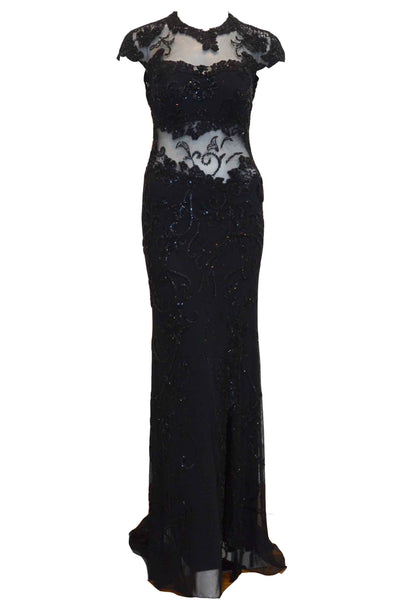 Rent : Image - Black Sequins Evening Dress