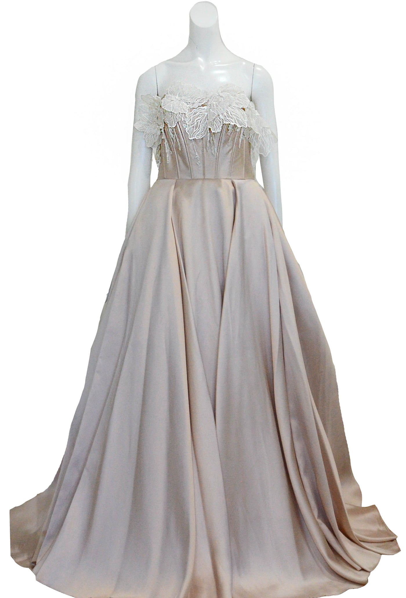 Buy : Adeline Esther - Strapless Satin Gown