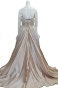 Rent : Adeline Esther - Strapless Satin Gown