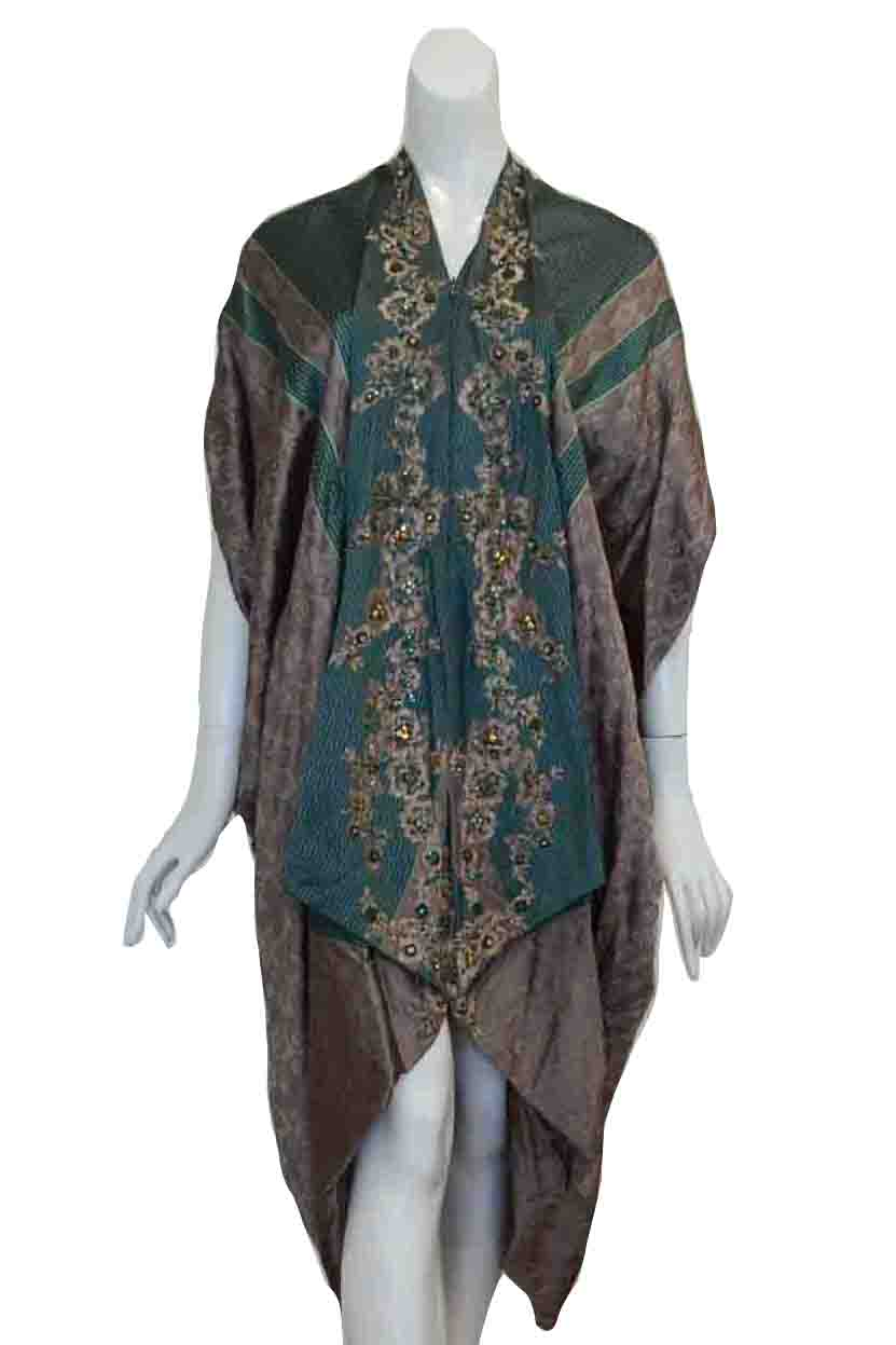 Sale: Windy Chandra - Green Kaftan Dress